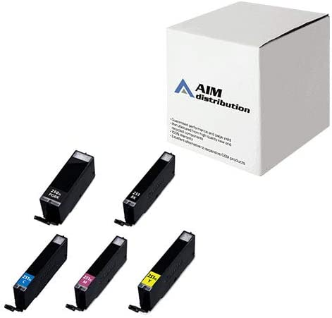 AIM Compatible Replacement for Canon PGI-250/CLI-251XL Inkjet Combo Pack (2-BK/1-C/M/Y) - Generic