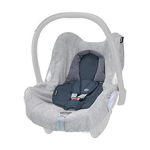 Maxi-Cosi Sommerbezug, passend für Maxi-Cosi CabrioFix Babyschale, Schonbezug für den Autositz für die warmen Sommertage, fresh grey