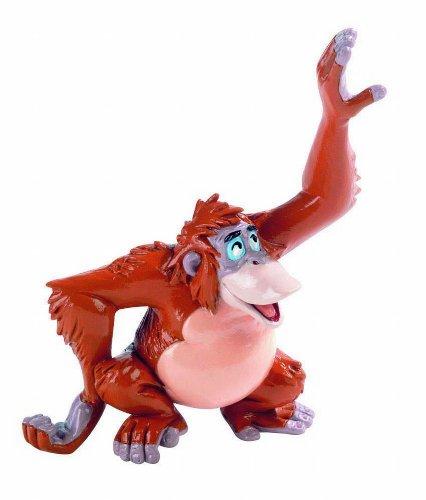 Bullyland 12383 - Spielfigur, Walt Disney Dschungelbuch, King Louie, ca. 8,8 cm groß, liebevoll handbemalte Figur, PVC-frei, tolles Geschenk für Jungen und Mädchen zum fantasievollen Spielen