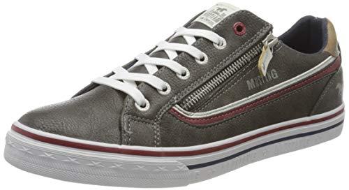 MUSTANG Herren 4147-301-20 Sneaker, Grau (Dunkelgrau 20), 42 EU