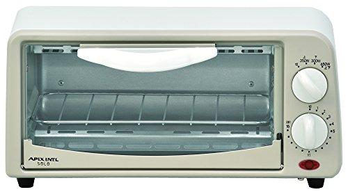 APIX オーブントースター 【食パンが2枚焼き可能】 ホワイト ATS-006-WH