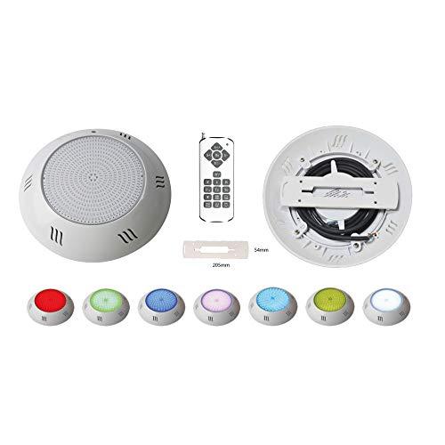 Foco Piscina Led 25W RGB 12 Colores Pack 2 + Mando - Instala