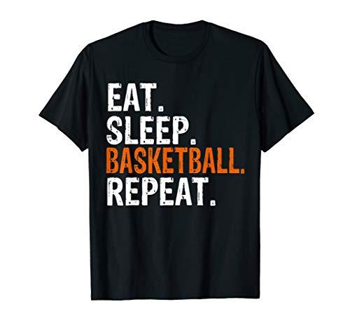 Eat Sleep Basketball Repeat Gift T-Shirt