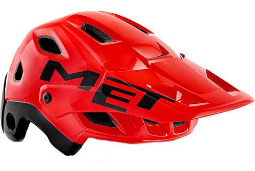 MET helm Parachute MCR MIPS rood 52-56 fietshelm unisex volwassenen rood (rood), S