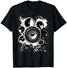 Speaker Building Electronics Sound Frequency Subwoofer Inch T-Shirt