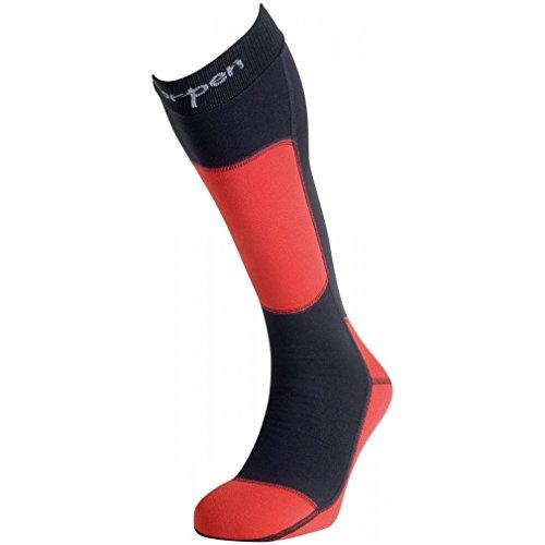Lorpen T3 Ski Polartec Black, Rouge, Large
