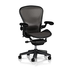 CLASSIC DESIGN - The Classic Aeron is the perfect marriage of performance and design. Herman Miller's best-selling office chair still defines expectations for ergonomic comfort more than 20 years after its debut. HIGH QUALITY MATERIALS - Across Aeron...