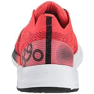 New Balance Men's 890 V7 Running Shoe, Energy Red/Black, 7 W US