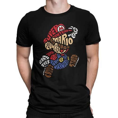 Camiseta Mario Bros NES
