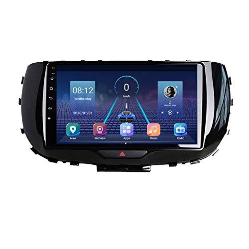 Android 9.0 Unidad Doble Din Head Unit Coche Estéreo Para Kia Soul 2019 2020 GPS Navegación Pantalla Táctil Multimedia Player Radio Receptor Carplay DSP RDS(Size:Cuatro nucleos,Color:WIFI:1+16G)