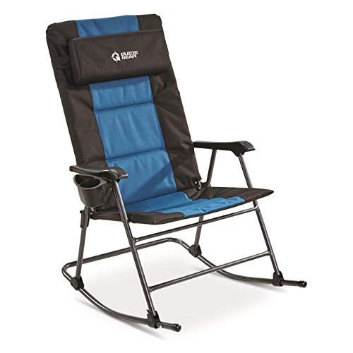 Guide Gear Oversized Rocking Camp Chair, 500-lb. Capacity