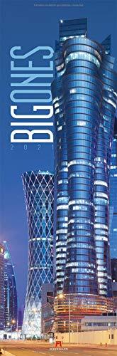 Big Ones Kalender 2021, Wandkalender / Panoramakalender im Hochformat (33x100 cm) - Architekturkalender mit Hochhäusern / Wolkenkratzern