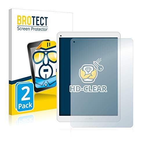 BROTECT Protector Pantalla Compatible con Archos 97c Platinum Protector Transparente (2 Unidades) Anti-Huellas