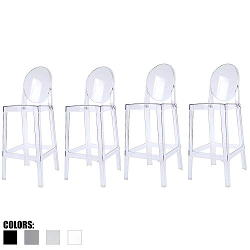 2xhome - Set of Four (4) Clear 30