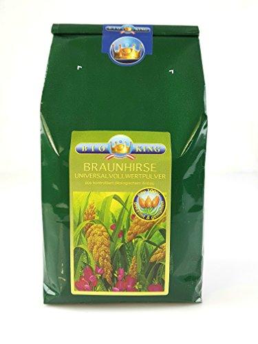 BioKing 1000g BIO BRAUNHIRSE, 100% gekeimt und gemahlen (EUR 13,90 / Pkg.), aus Österreich