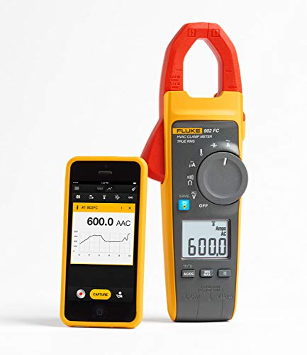 Fluke 902 FC HVAC True-RMS Clamp Meter