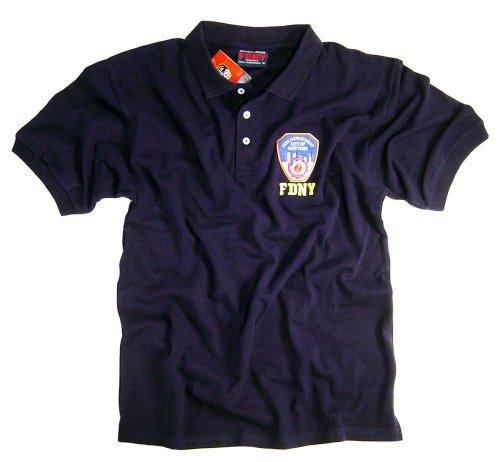FDNY Shirt T-Shirt Sweatshirt Hoodie Hat Patch Jacket FDNY Job Shirt Large
