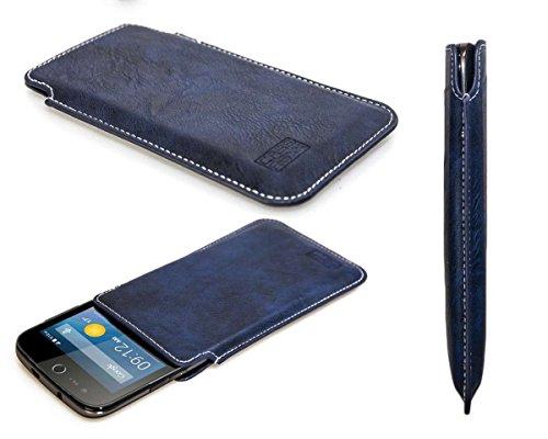 caseroxx Business-Line Etui für Acer Liquid Z330, Tasche (Business-Line Etui in blau)