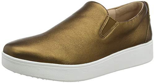 Fitflop Damen Sania Skate Sneaker Slipper, Braun (Bronze 012), 41 EU