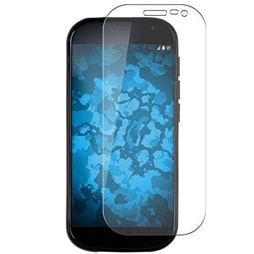 Vaxson 4 Stück Schutzfolie, kompatibel mit Yota Yotaphone 2 Yotaphone2, Bildschirmschutzfolie TPU Folie Displayschutz [nicht Panzerglas Hülle Hülle ]