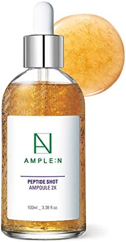 AMPLE N Peptide Shot Ampoule 2X 3 38 fl oz 100ml Double Upgraded Anti Aging Anti Wrinkle Facial product image