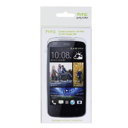 HTC 66H00132-00M Screen Schutzfolie für HTC Desire 500 (2-er piece blister)