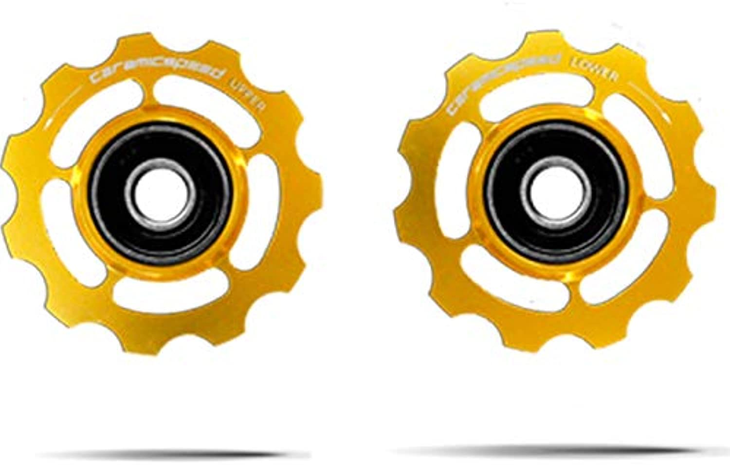CeramicSpeed 11 Speed Aluminum Pulley Wheels  Limited Edition gold