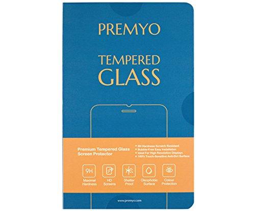 PREMYO 2 Stück Panzerglas Schutzglas Displayschutzfolie Folie kompatibel für Honor 5C Blasenfrei HD-Klar 9H 2,5D Gegen Kratzer Fingerabdrücke - 6