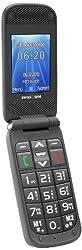 swisstone BBM 620 - Großtastenhandy mit Tischladestation (Farbdisplay, 0,3 MP Kamera) schwarz