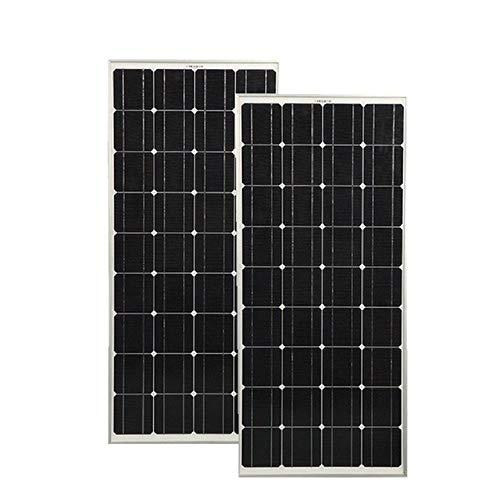 Hohe Qualität, 400 W, 200 W, Solarpanel aus Glas, 300 W, Solarmodul PV Solarzelle Monokristallin 12 V, Solar-Ladegerät RV/Haus/Boot, 2 Stück