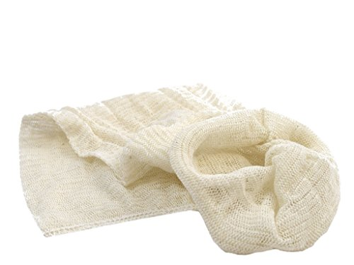 Muslin Bags (Pack of 10) for Straining Filtering Wine Beer Jam Marmalade Home Brew & Boiling Hops
