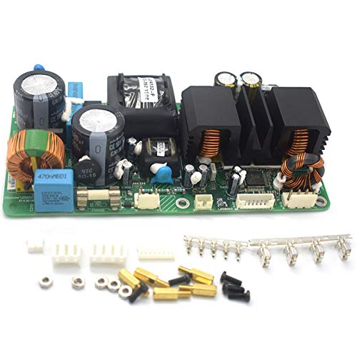Nrpfell Placa de Amplificador de Potencia ICE125ASX2 Placa de Amplificador de Potencia EstéReo Digital Amplificador de Potencia de Etapa de Fiebre H3-001