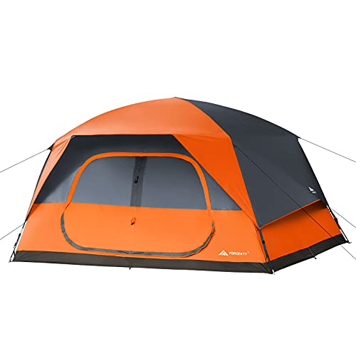 Forceatt Tent for 6 Person in 3-4 Seasons,Camping Tent with Removable Waterproof Rain Fly,The...