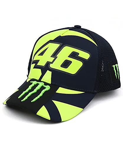 [ MOTO GP ] VR46 バレンティーノ・ロッシ オフィシャル モンスター レプリカ CAP