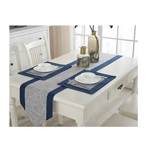 Table Runner, Cabinet Flag, Bed Flag, Modern Simplicity, Chinese Zen, Mantel, Algodón, Lino, Decoración de Mesa, Estilo Chino, Simple y Elegante, Sencillo, Limpio (Size : 30 * 210cm)