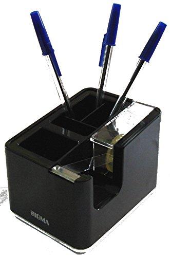 Sigma Schreibtischorganizer incl. Klebebandabroller Schwarz