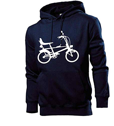 Generisch Bonanzarad Männer Hoodie Sweatshirt Navy S - shirt84.de