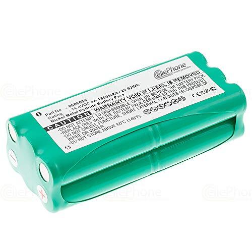 cellePhone batería Ni-MH para Dirt Devil Spider M607 M612 - M610 M611 M613 (reemplazado 0606004)