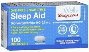 Walgreens Genuine Free Shipping Night Time Sleep 100 Aid Mail order cheap ea