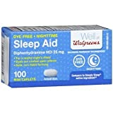 Walgreens Night Time Sleep Aid, 100 ea
