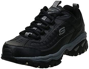 Skechers mens Energy Afterburn road running shoes Black 10