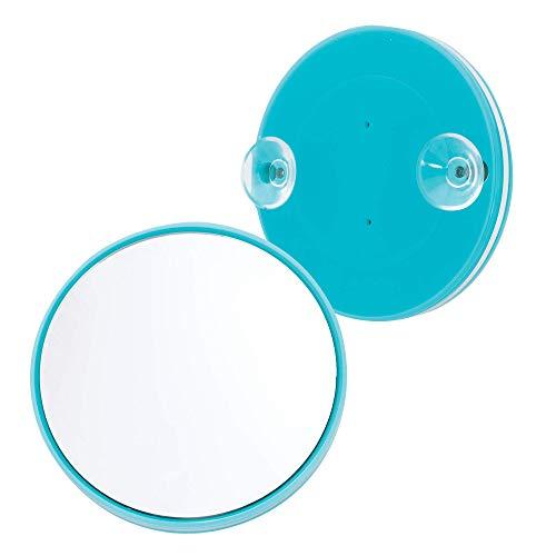 Danielle Enterprises 20x Alto ingrandimento Specchio a Ventosa, Mini, Rosa, Turquoise, Mini