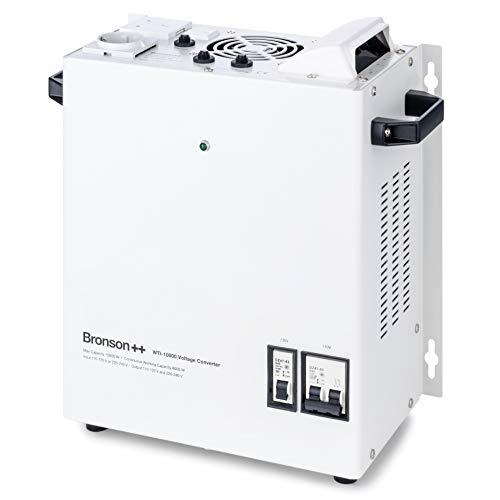 Bronson++ WTI 10000 110 Volt USA Spannungswandler Transformator zur Wandmontage 10000 Watt - In: 110V oder 220V / Out: 110V und 220V - Bronson 10000W