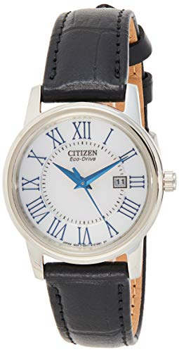 Price comparison product image Citizen Women's Eco-Drive Stainless Steel Watch with Date,  EW1568-04A