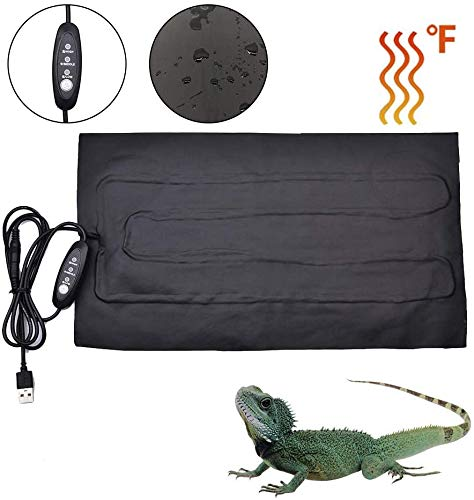 LuukUP Reptil Heizmatte, Terrarium Heizmatte,Heizkissen Amphibien Pet, für Aquarien Terrarien (8.5W: 35 X 20cm)