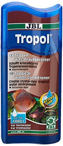 JBL Tropol 23067 Tropen-Wasseraufbereiter für Süßwasser Aquarien, 250 ml
