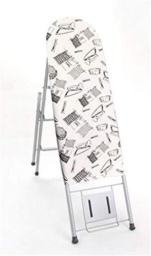 MIEMIE Dual-Purpose-Bügelbrett Zusammenklappbare großflächige Platte Home Wohnzimmer Lagerung Multifunktionsleiter
