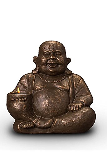 legendURN Buddha Keepsake urn with a Candle Holder