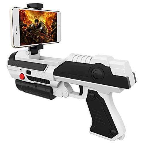 Standard Controllers, Creative Mobiele Telefoon Smart Bluetooth AR Game Gun Toy VR Gamepad Game Gun Outdoor Fun Sports Air Guns