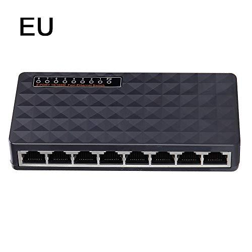 SM SunniMix 10 100M 5Port Micro USB Fuente De Alimentaci/ón Fast Ethernet LAN RJ45 Switch De Red